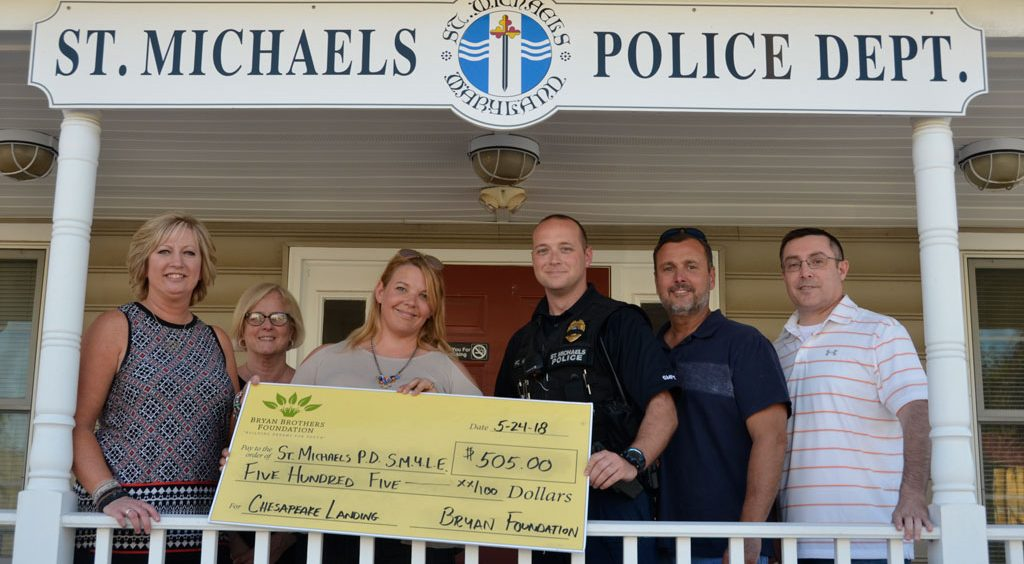 Bryan Brothers Foundation St. Michaels Police Department